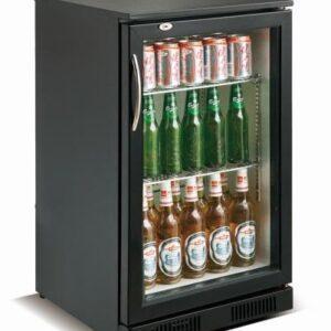Backbar - Barkøleskab - 1 låge - Sort - 98 liter