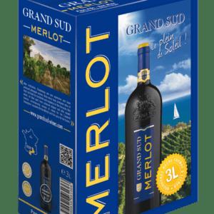 BiB 3L - Grand Sud Merlot