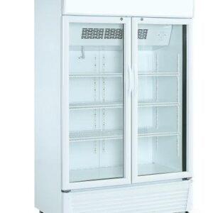 Displaykøleskab - Hvid - 585 liter