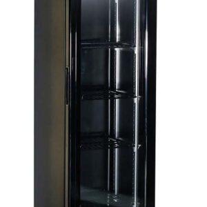 Displaykøleskab - Sort - Smalt - 105 liter
