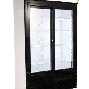Displaykøleskab - Sorte låger - 750 liter