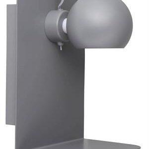 Frandsen Ball væglampe med USB (Mat lys grå)