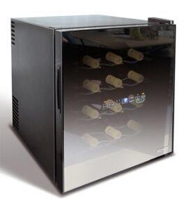 Husky vinkøleskab til 16 flasker med spejl-glas
