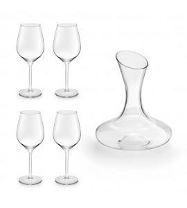 Royal leerdam - appeciate - 4 vinglas + karaffel