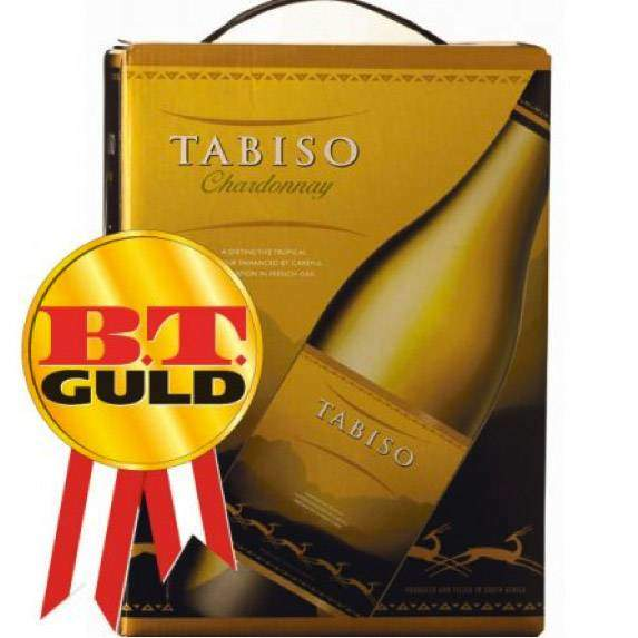 Tabiso Chardonnay 13% BIB 3 L