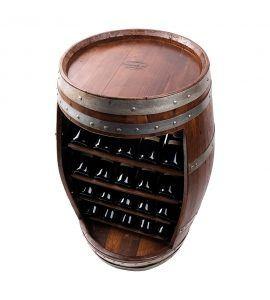 Vinobarto - vintøndereol display - 20 flasker