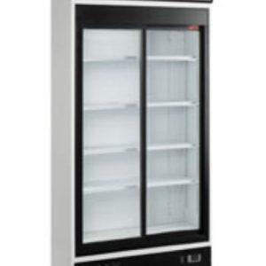 Displaykøleskab - 2 skydedøre - 750 liter