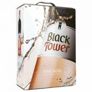 BiB 3L - Black Tower Pink Rosé 8,5%