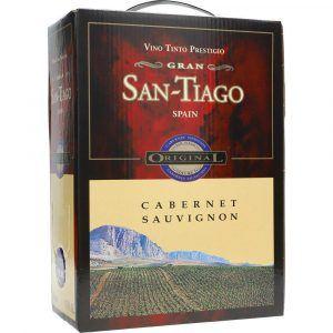 San Tiago Cabernet Sauvignon 13,5% 3 ltr.