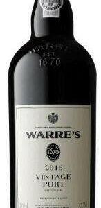 Warre's Vintage 2016 Port 0,75 ltr