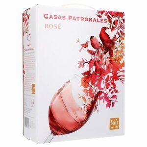 Casas Patronales Rosé Cabernet Sauvignon Merlot 14% 3L BIB