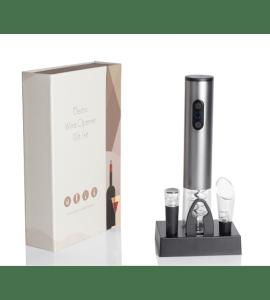 Klassisk elektrisk proptrækker gaveæske