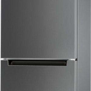Indesit køleskab/fryser LI8SN1EX (silver)