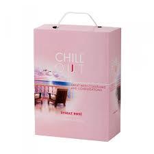 Chill Out Delicate & Fruity Shiraz Rose 12% BIB 3 L