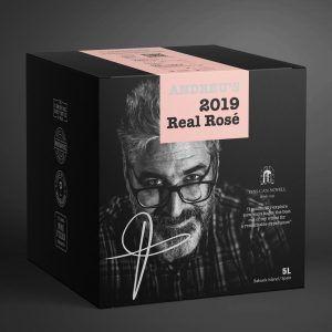 Andreus's 2019 Real Rosé 14.5% 5 ltr