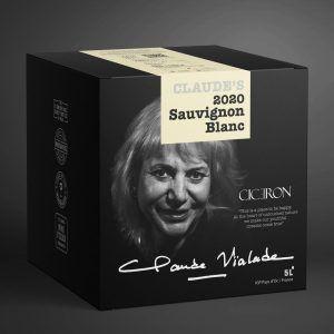 Claude's 2020 Sauvignon Blanc 12.5% 5 ltr